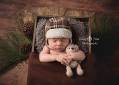 Newborn photo prop, photo prop, photography, handmade, newborn, baby, baby boy…