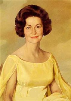 "Lady Bird Johnson (1912 - 2007) . . . Claudia ""Lady Bird"" Johnson was a financially successful investor and manager, turning a $41,000 investment in radio into a $150 million company. She funded her husband's first congressional race with $10,000 of her own money.  (Wikimedia Commons)"