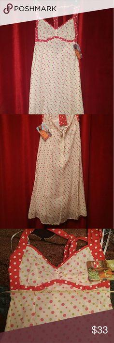 Lucy Love halter dress medium length  sz xs New with tags Lucy love dress xs Lucy Love Dresses