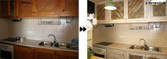 cocina de casa redecorada por DecoRecicla