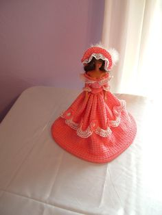 Vintage style handcrocheted gown on a vintage by LiterallyFromHome, $98.00