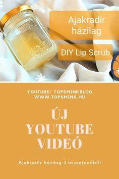 Ajakradír házilag 3 összetevőből/ Elindult a Topsmink Youtube csatornája / Új videó Beauty videó, Természetes kozmetikumok házilag Youtube, Soap, Lips, Personal Care, Blog, Self Care, Personal Hygiene, Blogging, Bar Soap