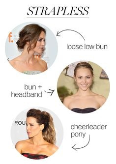 15 Hair and Neckline Combinations for Every Party Dress You Own