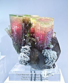 Tourmaline on Quartz - Nature Is Beautiful