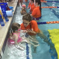 Taking your kids to swim lessons can cause some anxiety. See why Goldfish Swim School Instructors are amazing and how they put my anxiety at ease.
