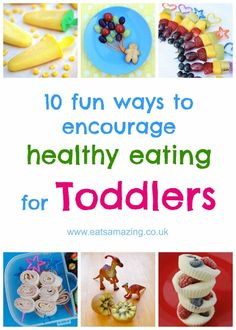 10+ Fun ideas to encourage healthy eating for toddlers - with fantastic tips and resources from Organix Foods - Eats Amazing UK