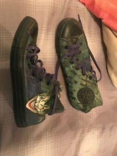 a4f45a3e6e Converse DC Comics Suicide Squad Joker Hi Top shoes mens US 9 womens US 11  NWT