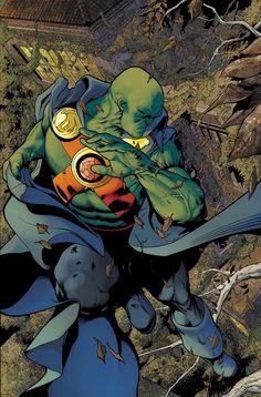 Martian manhunter! My favorite dc character