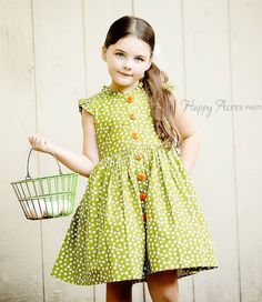 bd790c24f35 Buy Wishful Glen Park Vintage Green Floral Dress at Little Miss Marmalade  for only  42.00