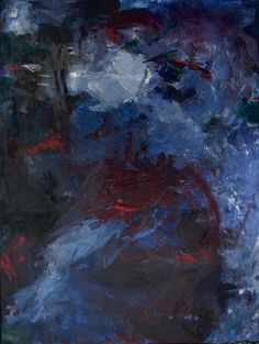 """Shot Through With Doubts""""  Original Art by Laurie Walker Abstract Painting Acrylic 11 x 14"""