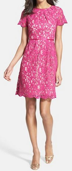 Scalloped lace dress http://rstyle.me/n/hyvs9nyg6