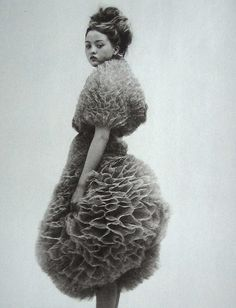 Poofy Dress on Devon Aoki