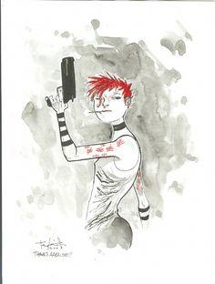 Phoebe Phoenix from Wormwood, Gentleman Corpse by Ben Templesmith Comic Art