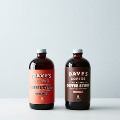 We love this stuff! Dave's #Coffee Syrup is delicious drizzled on vanilla ice cream, or as the base for a classic #RI milky iced coffee. #Yummy!