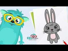 Jak narysować Zajączka   Rysunki Wielkanocne   Rysowanie Dla Dzieci   #edusiaki - YouTube Pikachu, Youtube, Fictional Characters, Fantasy Characters, Youtubers, Youtube Movies