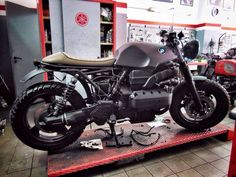K Series Cafe Racer By Motorecyclos Brutal Beauty Bmw MotorcyclesVintage