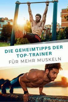 Mit diesen Übungen lassen sich schnell und effektiv Muskeln aufbauen.