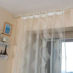 LOZUJOJU Modern style fashion design jacquard striped curtain tulle fabrics for bedroom window wave stripe tulle sheer living. Category: Home & Garden. Subcategory: Home Textile. Tulle Curtains, Cheap Curtains, Striped Curtains, Tulle Fabric, Cheap Tulle, Curtain Divider, Software, Bedroom Windows, Shopping