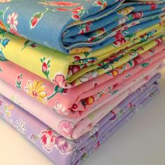 New large floral 30's Collection reproduction quilt fabric bundle by Atsuko Matsuyama