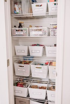 pantry organization ideas and inspiration dollar tree bins inexpensive organizing ideas organize with me Brianna k bitsofbri