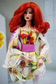 HABILISDOLLS outfit, clothes, shoes for Fashion Royalty FR2, Barbie,Jem dolls