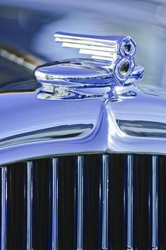 1932 Buick Series 60 Phaeton Hood Ornament - Jill Reger - Photographic prints for sale