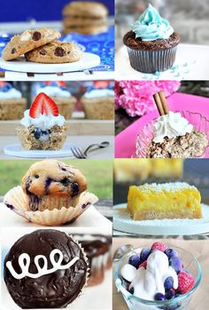 This link has tons of great (healthy!) recipe ideas for Fourth of July. Many are gluten free or have that option.