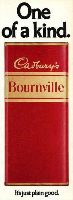 Did you grow up in the and Let's recall what used to tickle our tastebuds Cadbury's Bournville Chocolate. A magazine advert, courtesy of Carter Collectables Old Sweets, Vintage Sweets, Retro Sweets, 1970s Childhood, My Childhood Memories, Vintage Advertisements, Vintage Ads, Vintage Packaging, Adventure Quotes