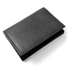 Sort X20 Læder Kortholder - 149,00kr