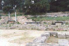 Olympie - l'Exedre - réservoir d'eau d'Olympie