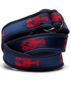 I have always wanted a lobster belt.  Not sure if I can pull it off.