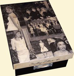Photo box. This company makes boxes and other items using your photos. Wonderful idea for storing keepsake items. Genealogy gift idea.