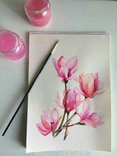 grafika flowers, art, and pink