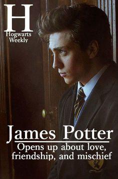 James Potter Hogwarts weekly