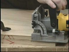 WOODWORKING MADE EASY BISCUIT JOINERY 2 OF 3