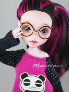 "Monster High Repaint Custom OOAK ""Chyler"" by Mango's Cabin 