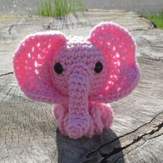 Large Ear Elephant Inkie Pink    Large Ear Elephant Inkie Did you know that there are two different continents where elephants live? This is a large ear elephant. It lives in Africa. The trunk is poin