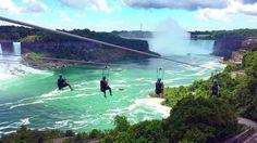 I want to zipline in Niagra Falls // Sophia - California