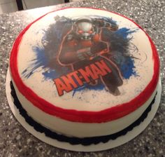 Ant Man Cake Design : 1000+ images about Cakes on Pinterest Frozen birthday ...
