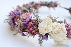 Flora Femme Bridal Halo by Eucca on Etsy, $65.00