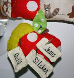 Don't worry .... I'm sewing: Schon wieder..... Nadelkissen ....