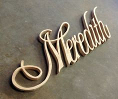 Custom Name Plaques cut from scroll saw  up to 6 by SyWoodInk, $55.00