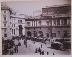 Sommer Album Napoli -- (Giorgio Sommer & Figlio, Napoli, albumen photograph) signed: 1178 Napoli (Galleria Umberto I.)