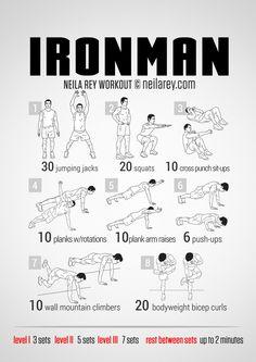 Ironman Workout | neilarey.com | #fitness #bodyweight