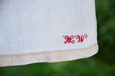 Linen Sheets, Gorgeous Fabrics, Etsy App, Sell On Etsy, Etsy Vintage, Hand Weaving, Upholstery, Monogram, Rustic
