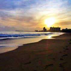 """""""¡Buenos Dias! #islaverde #puertorico #sky #sun #caribbean #sunrise #clouds"""""""