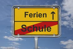 Ende Schule, Anfang Ferien   end of school, beginning holiday