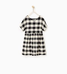 Gingham dress-DRESSES AND JUMPSUITS-Girl-Kids | 4-14 years-KIDS | ZARA United States