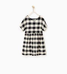 ZARA - KIDS - Gingham dress
