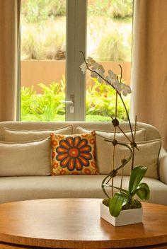 Elegancia y belleza para el salón. Decora tu hogar con orquídeas #decoración #orquídeas